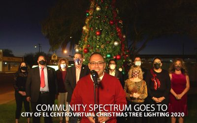 City of El Centro Virtual Christmas Tree Lighting 2020