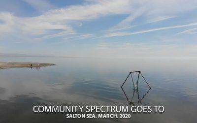 Salton Sea. March, 2020