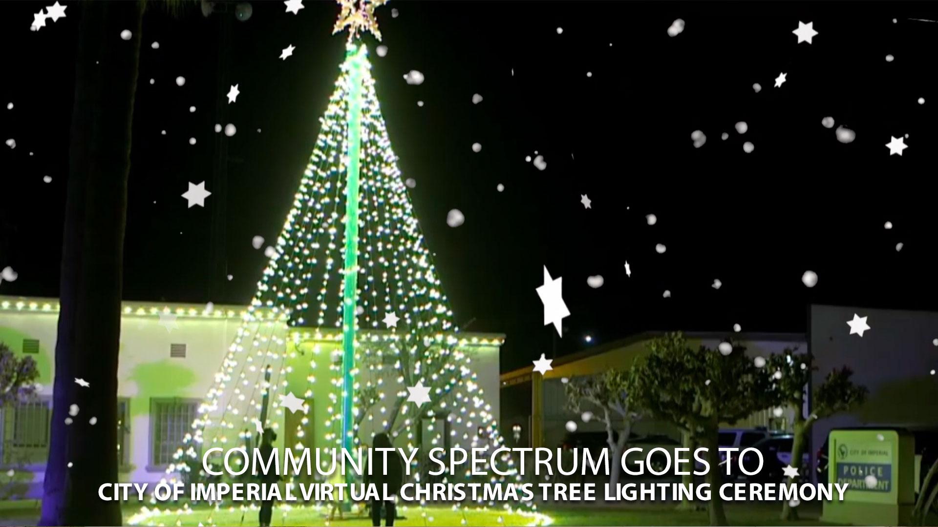 City of Imperial virtual christmas tree lighting ceremony