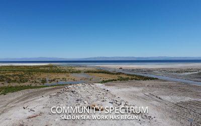 Salton Sea: Work Has Begun