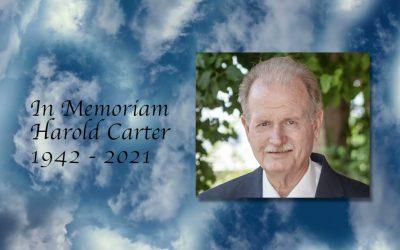 In Memoriam Harold Carter
